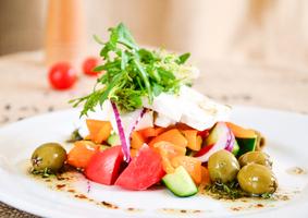 Классический Греческий салат с сыром Фета