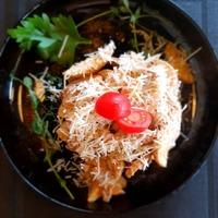 Сковородка С курицей и грибами