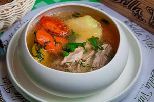 Тосканський суп з ягням