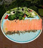 Карпачо з лосося