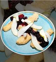 Моцарела Панко з чорними ягодами