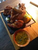 Цыпленок запеченный в тандыре