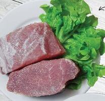 Блины с рубленым мясом и зеленью