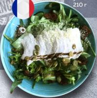 Салат з індичкою пастрамі