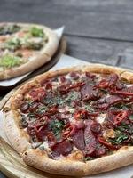 Піца «Мисливська з грибами»