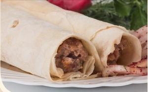 Люля-кебаб из телятины в лаваше