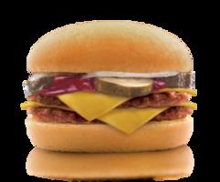 Меню «Дабл Чизбургер Биф»