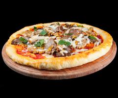 Пицца «Кваттро ди карне»
