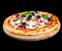 Пицца «Кваттро сальсиция»