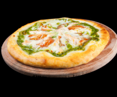 Піца «Лососі аля креме»