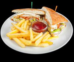 Чікен нагетс сендвіч