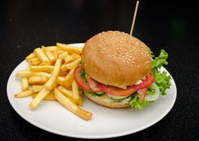 Наири бургер с бараниной