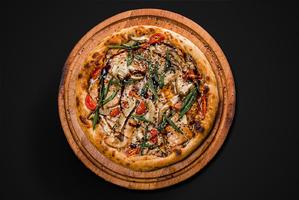 Пицца Цыпленок в соусе Терияки