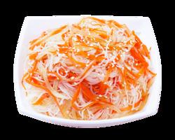 Салат з фунчозою